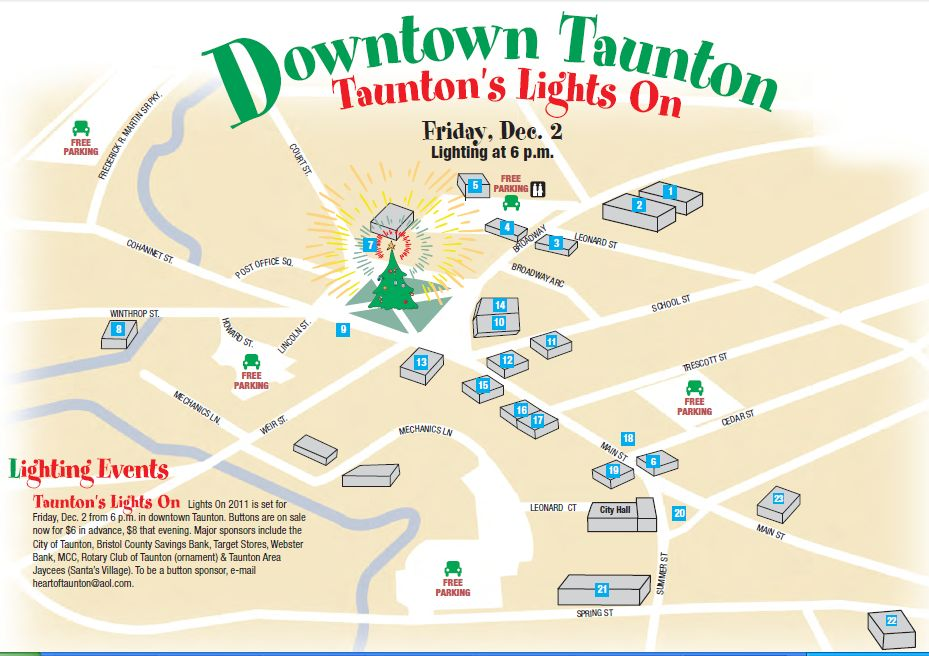 Taunton to hold Christmas parade Dec. 4 - News - The Patriot ...