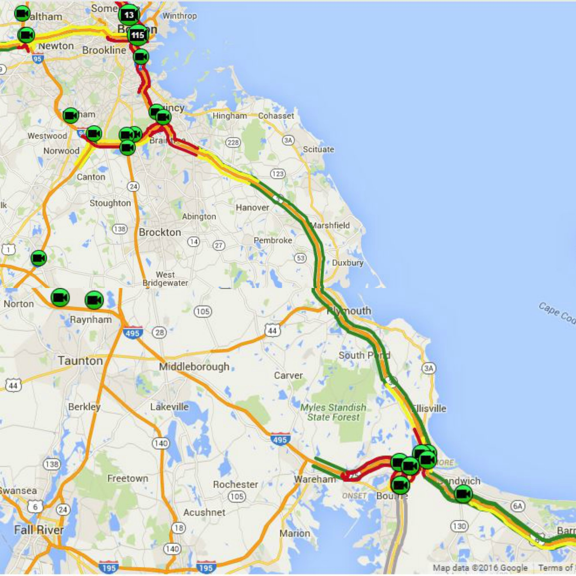 YOUR COMMUTE: Traffic reports, bridge openings and traffic